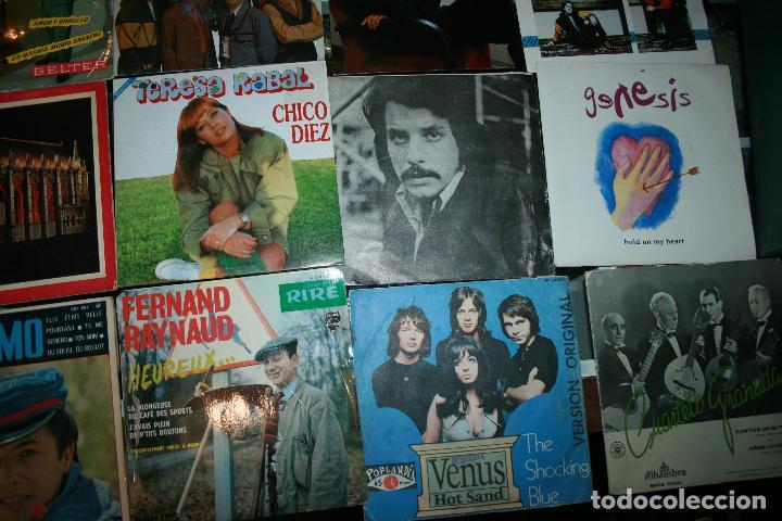 Discos de vinilo: Lote de 60 discos singles diferentes estilos - Foto 3 - 159909288
