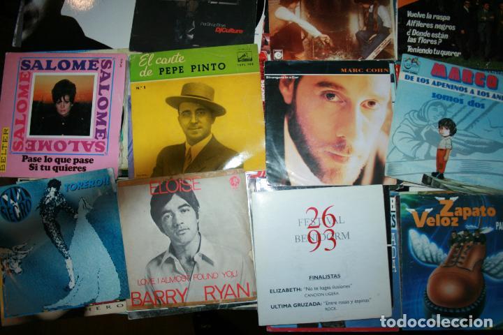 Discos de vinilo: Lote de 60 discos singles diferentes estilos - Foto 4 - 159909288