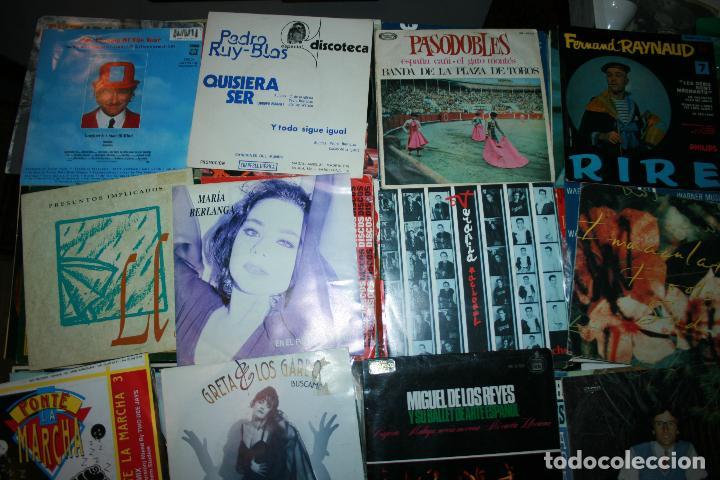 Discos de vinilo: Lote de 60 discos singles diferentes estilos - Foto 5 - 159909288