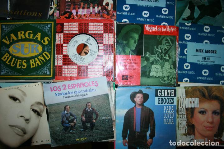 Discos de vinilo: Lote de 60 discos singles diferentes estilos - Foto 6 - 159909288