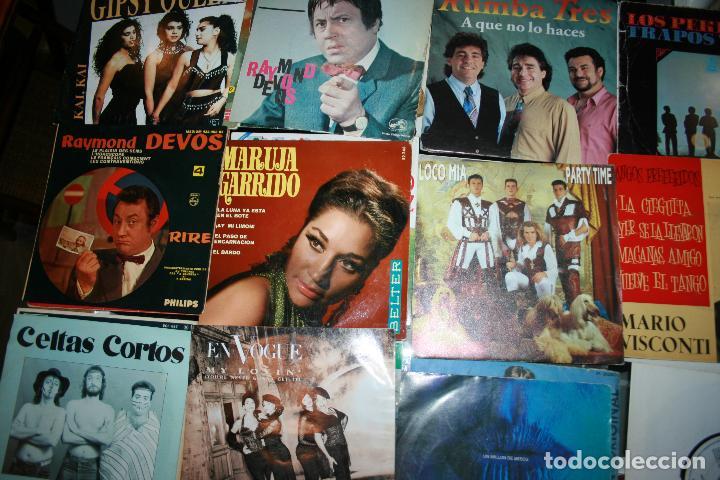 Discos de vinilo: Lote de 60 discos singles diferentes estilos - Foto 8 - 159909288