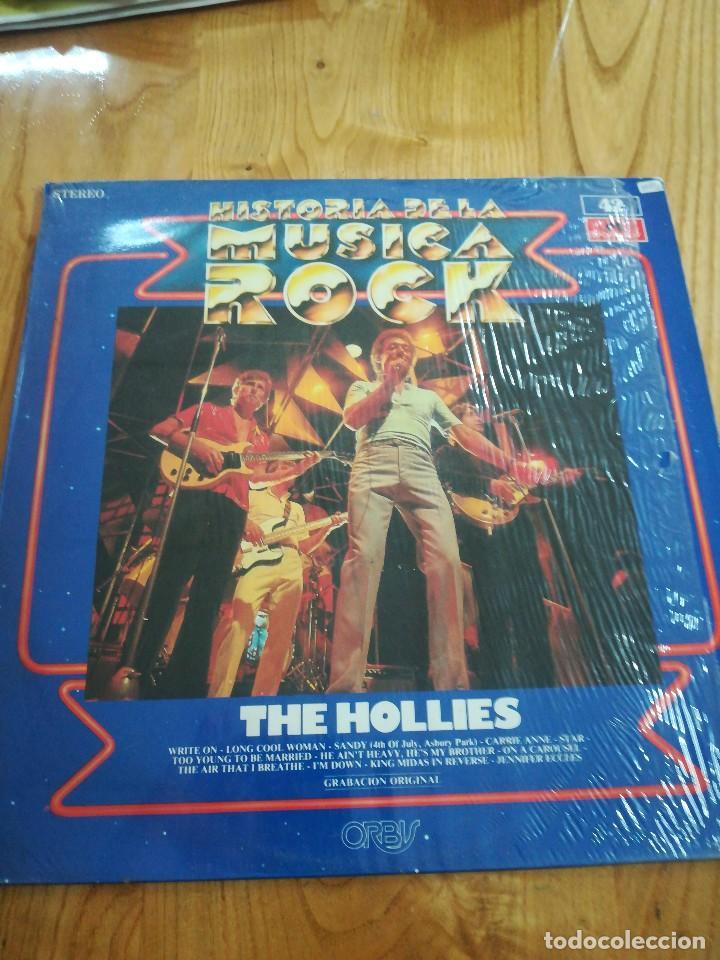 VINILO LP MÚSICA. HISTORIA DE LA MÚSICA ROCK. THE HOLLIES (Música - Discos - LP Vinilo - Otros estilos)
