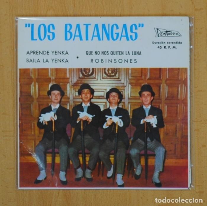 LOS BATANGAS - APRENDE YENKA + 3 - EP (Música - Discos - Singles Vinilo - Solistas Españoles de los 50 y 60)