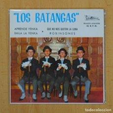 Discos de vinilo: LOS BATANGAS - APRENDE YENKA + 3 - EP. Lote 120503939