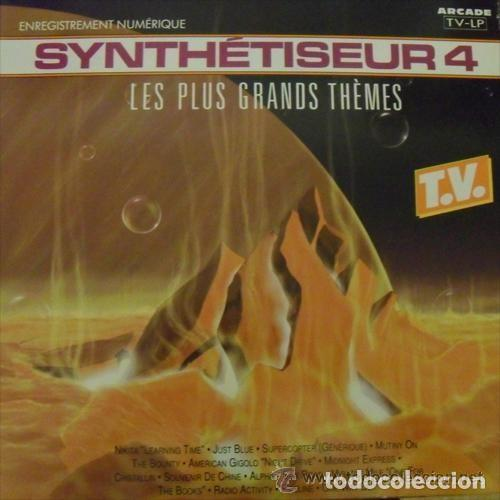 ED STARINK – SYNTHÉTISEUR 4 - LES PLUS GRANDS THÈMES - LP FRANCE 1990 (SOLO CARATULA) (Música - Discos - LP Vinilo - Electrónica, Avantgarde y Experimental)