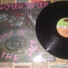 Discos de vinilo: TWISTED SISTER - LEADER OF THE PACK / I WANNA ROCK (ATLANTIC 1983) ORIGINAL ENGLAND. Lote 120525091