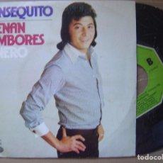 Discos de vinilo: PANSEQUITO - SUENAN TAMBORES- SINGLE. Lote 120539579