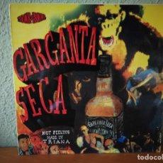 Discos de vinilo: GARGANTA SECA,, 1990,,JUNTA DE ANDALUCIA. Lote 120546487