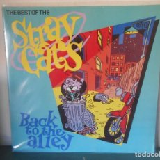 Discos de vinilo: THE BEST OF THE STRAY CATS. Lote 120547199