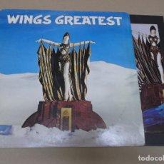Discos de vinilo: PAUL MCCARTNEY & WINGS (LP) WINGS GREATEST AÑO 1978 – ENCARTE INTERIOR + POSTER DESPLEGABLE. Lote 120557015