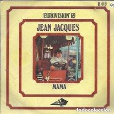 Discos de vinilo: JEAN-JACQUES – MAMAN / LES BEAUX DIMANCHES - SINGLE SPAIN 1969. Lote 120560659