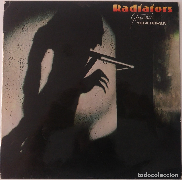 RADIATORS..GHOSTOWN.CIUDAD FANTASMA.(CHISWICK 1979).SPAIN. (Música - Discos - LP Vinilo - Punk - Hard Core)