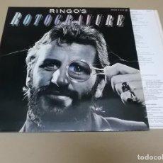Discos de vinilo: RINGO STARR (LP) RINGO'S ROTOGRAVURE AÑO 1976 – PORTADA ABIERTA + ENCARTE CON LETRAS. Lote 120563591