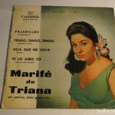 Discos de vinilo: MARIFE DE TRIANA. Lote 120568031