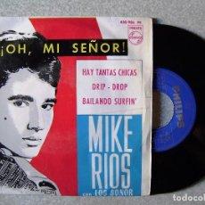 Discos de vinilo: MIKE RIOS CON LOS SONOR.¡OH MI SEÑOR! +3. Lote 120572647