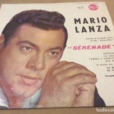 Discos de vinilo: MARIO LANZA. SERENADE. RCA FRANCIA.. Lote 120583107