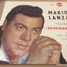 Discos de vinilo: MARIO LANZA . SERENADE. RCA FRANCIA.. Lote 120583191