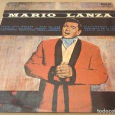 Discos de vinilo: MARIO LANZA. SANTA LUCIA LUNTANA. RCA VICTOR 1965.. Lote 120583443