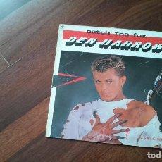 Discos de vinilo: DEN HARROW-CATCH THE FOX.MAXI ESPAÑA. Lote 120621979