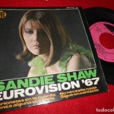 Discos de vinilo: SANDIE SHAW MARIONETAS EN LA CUERDA/+3 7'' EP 1993 SPAIN EDICION ESPAÑOLA EUROVISION '67. Lote 120643491
