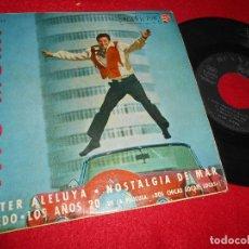 Discos de vinilo: TITO MORA PATER ALELUYA/NOSTALGIA DE MAR/MIEDO/+1 7'' EP 1964 RCA SPAIN EDICION ESPAÑOLA. Lote 120644871