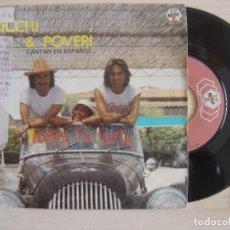 Discos de vinilo: RICCHI E POVERI - HASTA LA VISTA - SINGLE. Lote 120649815