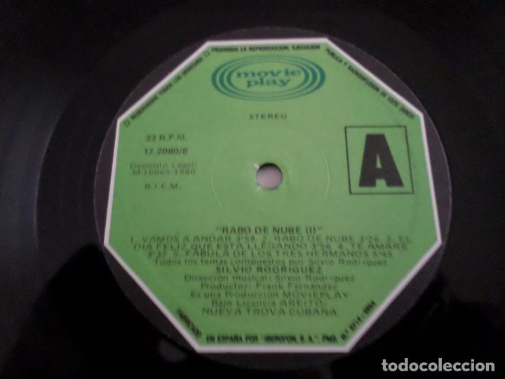Discos de vinilo: LP SILVIO RODRIGUEZ - Foto 5 - 120654691