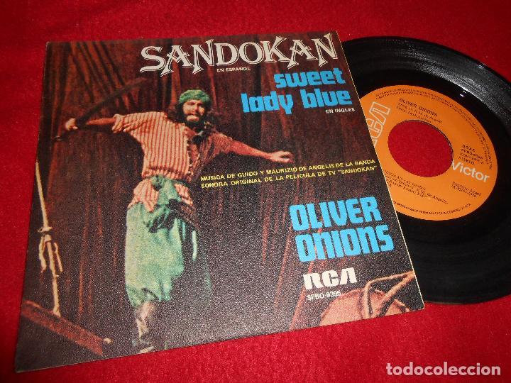 SANDOKAN BSO OST GUIDO&MAURIZIO DE ANGELIS SANDOKAN/+1 7'' SINGLE 1976 RCA SPAIN EDICION ESPAÑOLA (Música - Discos - Singles Vinilo - Bandas Sonoras y Actores)