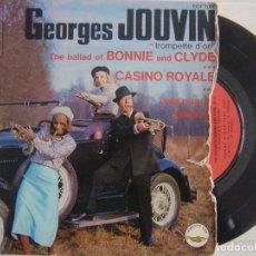 Discos de vinilo: GEORGES JOUVIN - THE BALLAD OF BONNIE..SINGLE. Lote 120665791