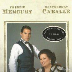 Discos de vinilo: FREDDIE MERCURY & MONSERRAT CABALLÉ - BARCELONA (EXTENDED VERSION) + 2 (MAXI) PROMO! POLYGRAM 1987. Lote 120671587
