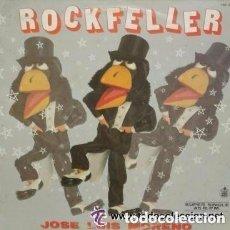 Discos de vinilo: ROCKFELLER, JOSE LUIS MORENO, MAXI-SINGLE HISPAVOX 1985. Lote 120671691