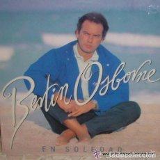 Discos de vinilo: BERTÍN OSBORNE - EN SOLEDAD - LP WARNER MUSIC DE 1992. Lote 120673747