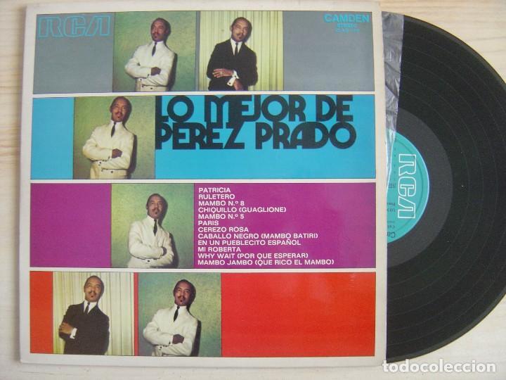 LO MEJOR DE PEREZ PRADO - LP ESPAÑOL 1971 - RCA (Música - Discos - LP Vinilo - Grupos y Solistas de latinoamérica)