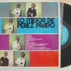 Discos de vinilo: LO MEJOR DE PEREZ PRADO - LP ESPAÑOL 1971 - RCA. Lote 120675447