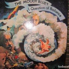 Discos de vinilo: THE MOODY BLUES - AQUESTION OF BALANCE LP - EDICION U.S.A. - THRESHOLD 1984 -. Lote 120676335