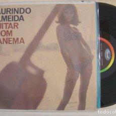 Discos de vinilo: LAURINDO ALMEIDA - GUITAR FROM IPANEMA - LP USA - CAPITOL. Lote 120677935