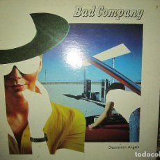 Discos de vinilo: BAD COMPANY - DESOLATION ANGELS LP - ORIGINAL U.S.A. - SWAN SONG 1979 FUNDA INT. ORIGINAL GATEFOLD. Lote 120679667