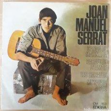 Discos de vinilo: DISCO VINILO SINGLE JOAN MANUEL SERRAT. Lote 120686311