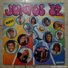 Discos de vinilo: LP JUNTOS '82 - HISPAVOX 1982. Lote 120726127