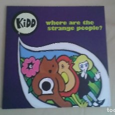 Discos de vinilo: LP KIDD WHERE ARE THE STRANGE PEOPLE? INDIE POP VINYL. Lote 120727859