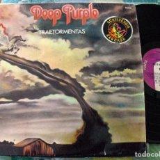 Discos de vinilo: DEEP PURPLE: TRAETORMENTAS- IMPRESIONANTE EDICION DE ARGENTINA-ORIGINAL!!. Lote 120730947