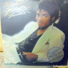 Discos de vinilo: MICHAEL JACKSON: PAUL MCCARTNEY THRILLER(ESPELUZNANTE) EDICION ORIGINAL ARGENTINA,1982-BEATLES. Lote 120731647