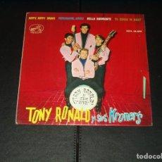 Discos de vinilo: TONY RONALD Y SUS KRONERS EP HIPPY.HIPPY SHAKE+3. Lote 120736539