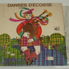 Discos de vinilo: DANSES D'ECOSSE RHYTMES ET JEUX - FRANCE. Lote 120736639