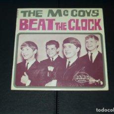 Discos de vinilo: MCCOYS EP BEAT THE CLOCK+3 MUY RARO. Lote 120741455