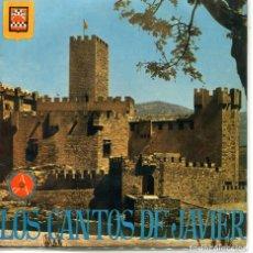 Disques de vinyle: REGIONAL - LOS CANTOS DE JAVIER (INTERPRETACION POPULAR EN EL CASTILLO DE SAN JAVIER (EP 1963). Lote 120743739