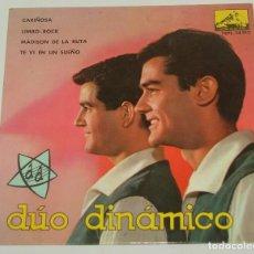Discos de vinilo: DUO DINÁMICO.. CARIÑOSA +3 EP AÑO 1963 EDITA ODEON. Lote 120744355