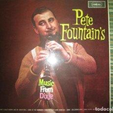 Discos de vinilo: PETE FOUNTAIN´S - MUSIC FROM DIXIE LP - ORIGINAL INGLES - CORAL RECORDS 1963 - MONOAURAL -. Lote 120744811