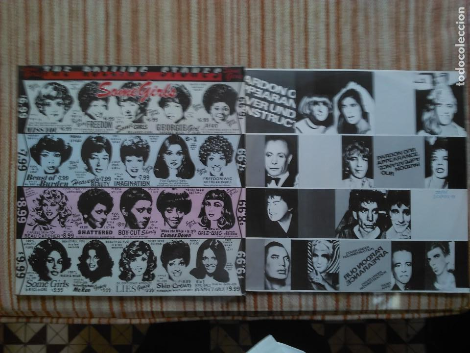 The rolling stones -some girls lp-españa - Sold through