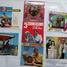 Discos de vinilo: LOTE DE 7 SINGLES DE LOS 3 SUDAMERICANOS.UNO FIRMADO AUTOGRAFO. Lote 120752891